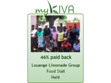 We grant loans through KIVA