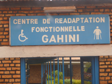 Centre de readaptation fonctionnelle Gahini